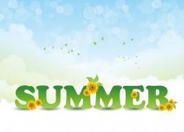 Summer inscription