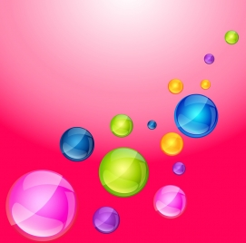 sweet candies background colorful round objects decoration