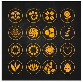 symbol design element set
