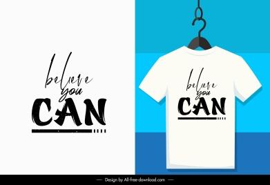 t shirt decor elements calligraphic quoting design