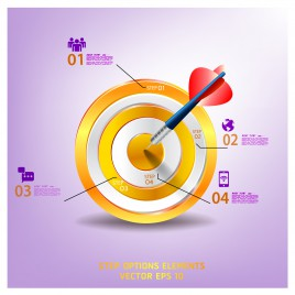 target dart infographic