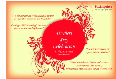 teachers day poster