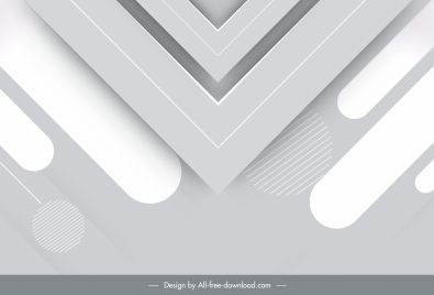technology background bright grey modern symmetric geometric decor
