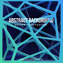 technology background colored 3d structure design