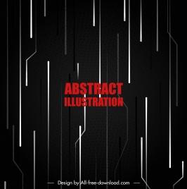 technology background dark vertical dynamic lines decor