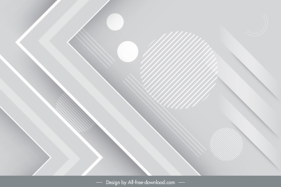technology background modern bright grey geometric decor