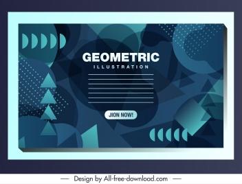 technology background modern dark abstract geometric decor