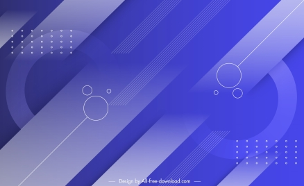 technology background modern flat symmetric geometrical violet decor