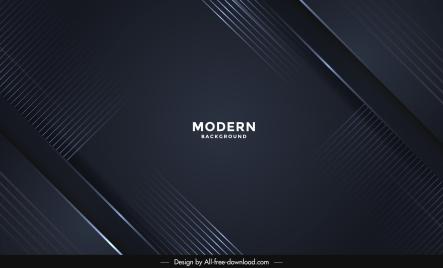 technology background template elegant dark contemporary design