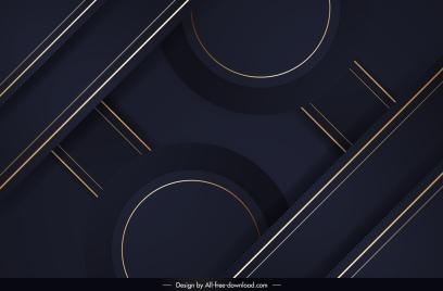 technology background template elegant dark modern symmetric geometry
