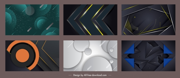 technology backgrounds modern abstract dynamic design