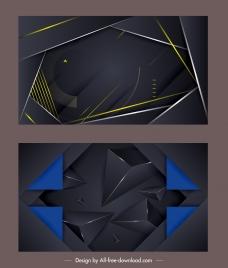 technology backgrounds modern dark technology design