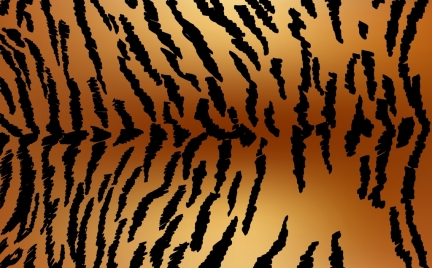 tiger leather background dark stripes decor