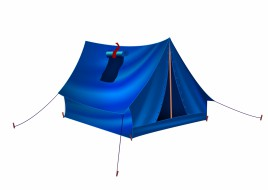 tourist tent for travel and camping