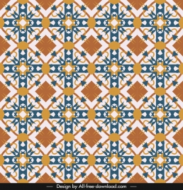 traditional pattern template classical colorful design repeating symmetry