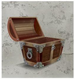 treasure chest open