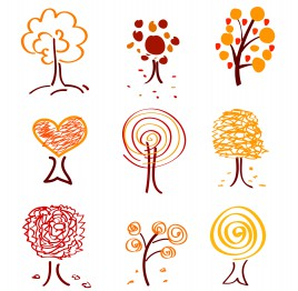 tree icon drawing