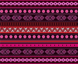 tribal pattern template pink repeating design