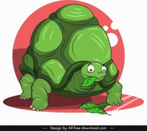 turtle animal icon cute cartoon character sketch