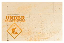 under construction - Stock Image