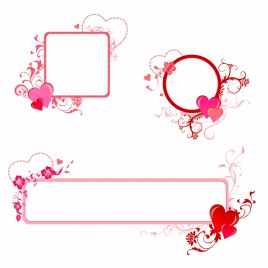 Border Designs Free Hearts Red Vectors Stock For Free Download About