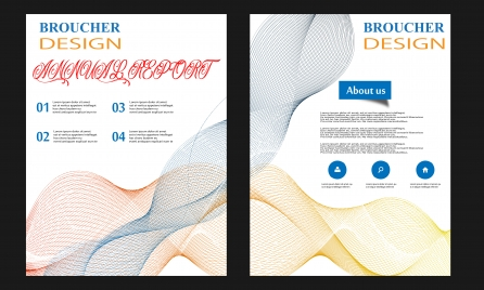 vector brochure template flyer template annual report business cover layout leaflet booklet letterhead magazine design