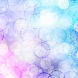 violet and blue circle abstract background