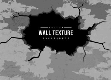 wall texture background black white crack design