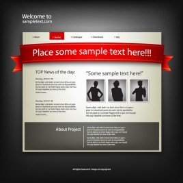Web template classic