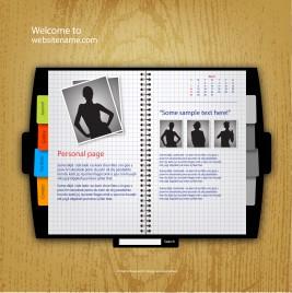 website template book