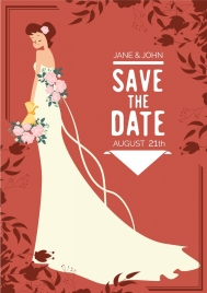 wedding banner bride icon classical decor