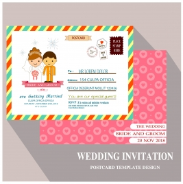 free vector template wedding envelope vectors stock for free