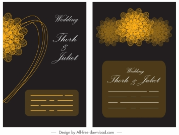 Symbol ornament flowers black vectors stock for free download about