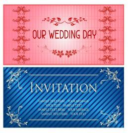 wedding day invitation card