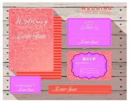 wedding design invitation card templates