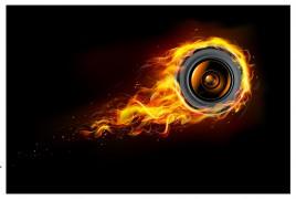 wheel flame