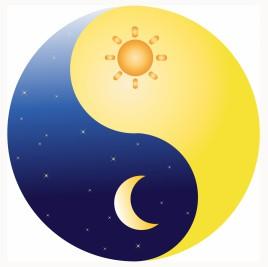 Ying Yang Sun and Moon
