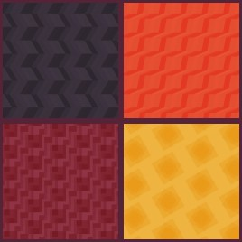 zigzag wave pattern collection