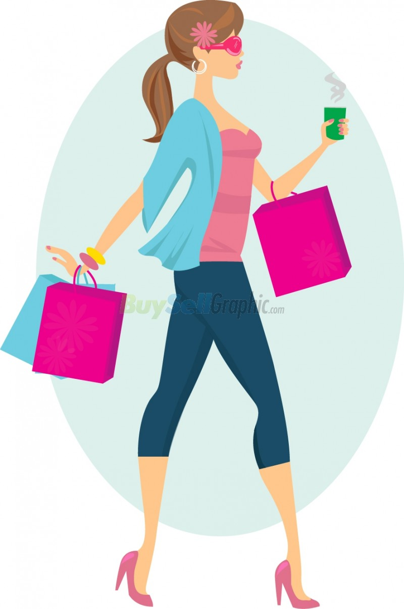 free clipart clothes shopping - photo #12