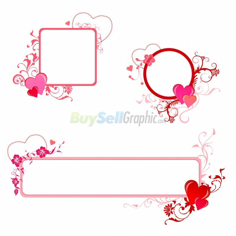 valentine border ai valentine border eps total size