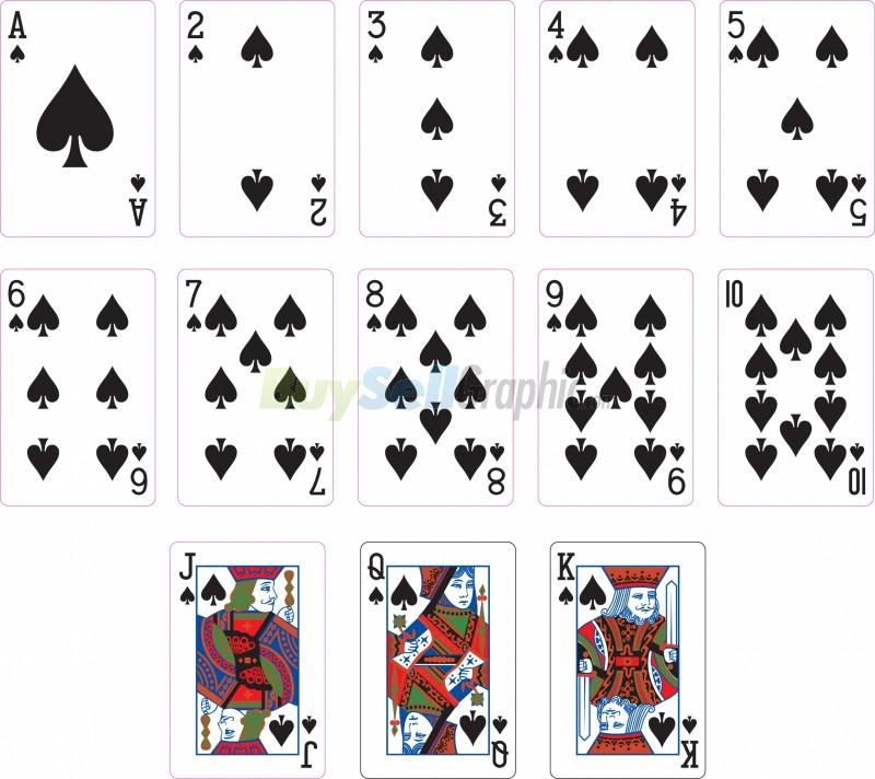 poker card spade