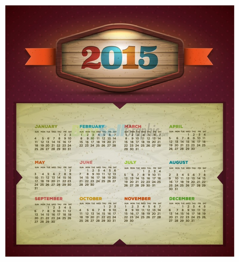 Calendar Design Zip : Calendar vector design template graphic