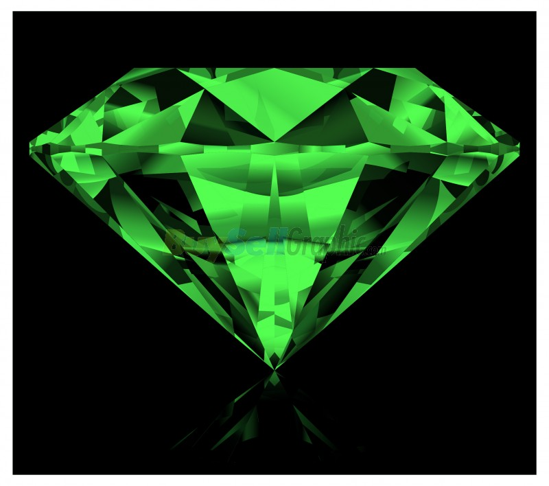 Green diamond vector graphic royalty free download ...